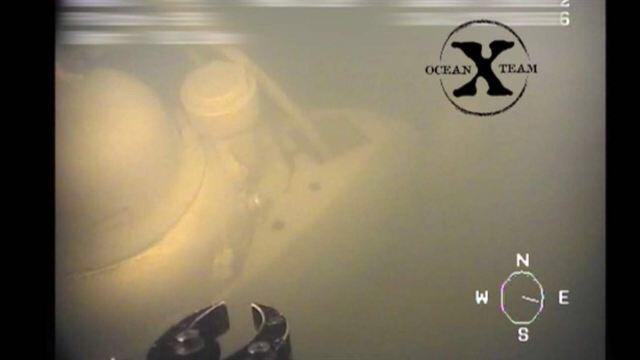 Modern, apparently undamaged 20 m mini-sub with Russian lettering on found in Swedish waters https://t.co/zuGRFXeigS http://t.co/O1dyQPV0Gx