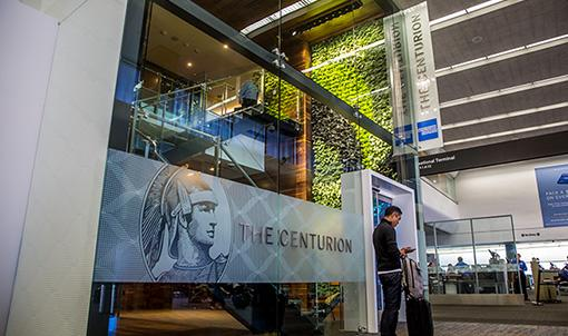Relax inside the @AmericanExpress centurion lounge now in Terminal 3. For more info visit