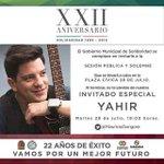 @yahirmusic será el artista que se presente en el XXII aniversario de #Solidaridad. @MauricioGongora @CinthyaOsorioG http://t.co/SH6Xiu8k8l