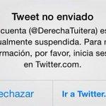 Alto a la censura en #Chile, por Michelle Bachelet, apoyo total a @DerechaTuitera http://t.co/7ddAvLsL4A