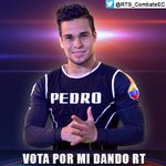 @PedroFCombate es uno de los nominados, ¡para salvarlo vota dándole RT a este tweet! Sólo contarán los RTs, no citas. http://t.co/pdrVXGn1Xy