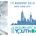 In #NYC on 12 August? Reserve your seat! Registration still open for #YouthDay Celebration @UN http://t.co/lsL3e3e7wm http://t.co/vY3gNLdS9I