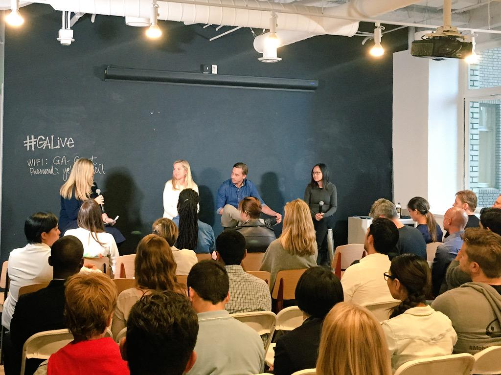 .@foundersatwork @Tracy_Young @ChaseAdam17 @EvieN speaking @GA_SF. Thrilled to partner w/ @FastCompany for this event http://t.co/93VftoqP1X