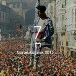 Ya queda menos pa Celedón!!!! 😊👏🎉🍻💃 #UnaSemana #gasteizkojaiak2015 http://t.co/0OJcFA11bQ