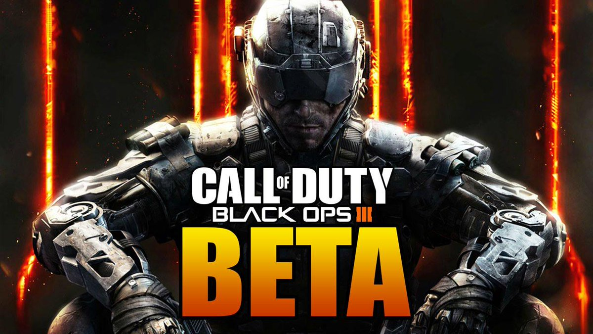Giving away three Black Ops 3 beta codes (any platform). Winners picked tomorrow at 7pm EST. RT + Follow to enter! http://t.co/bscVWcO3cP