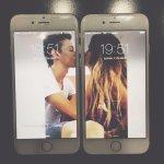 Estos pudimos ser nosotros dos, pero los dos somos pobres y no nos alcanza para iPhone :( http://t.co/5NODsYsyiC