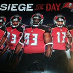 """Bucs """"Siege the Day"""" campaign to ticket holders features David, VJackson, McCoy, Evans, Winston. h/t @Stylo706. http://t.co/dMLDh6dEbH"""