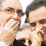 É preciso lembrar. Esses dois senhores tiveram seus nomes pessoalmente ligados à corrupção. Dilma Rousseff, não. http://t.co/K91Ym5Yw2e
