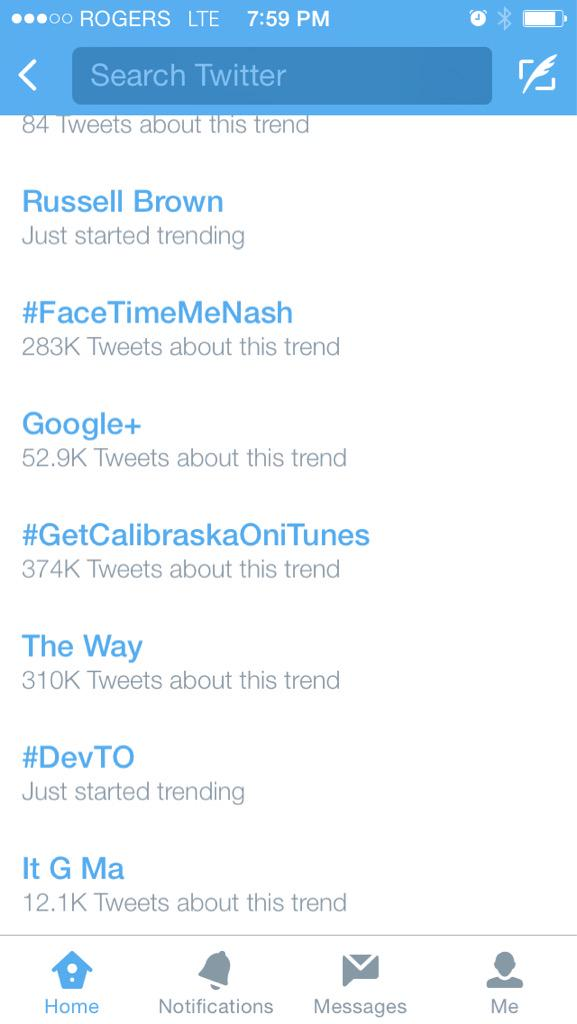 Guess who just started trending!  #DevTO !! http://t.co/8Tl9Nbtd9Q