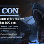 GenCon is a few days away, and we're having a Titansgrave panel that you may want to come watch.