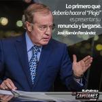 """.@joserra_espn en #ESPNCapitanes: Lo primero que debería hacer el """"Piojo"""" es presentar su renuncia y largarse. http://t.co/ymUe5j9Fx1"""