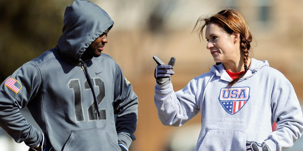 RT @AZCardinals: She has a Master�s. She has a PhD. She has an AZCardinals coaching job. She is @jwelter47. http://�