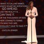 RT @heykim: .@Caitlyn_Jenner, Arthur Ashe Courage Award winner at the 2015 #ESPYS. http://t.co/aeCdC9Nzp7 /via @espn