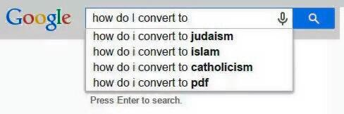 PDF, the 4th most popular religion in the world. #FillInTheBlanks http://t.co/edxwdrtNyg