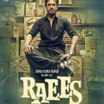 Love the first look of @iamsrk in #Raees He's killing it!
