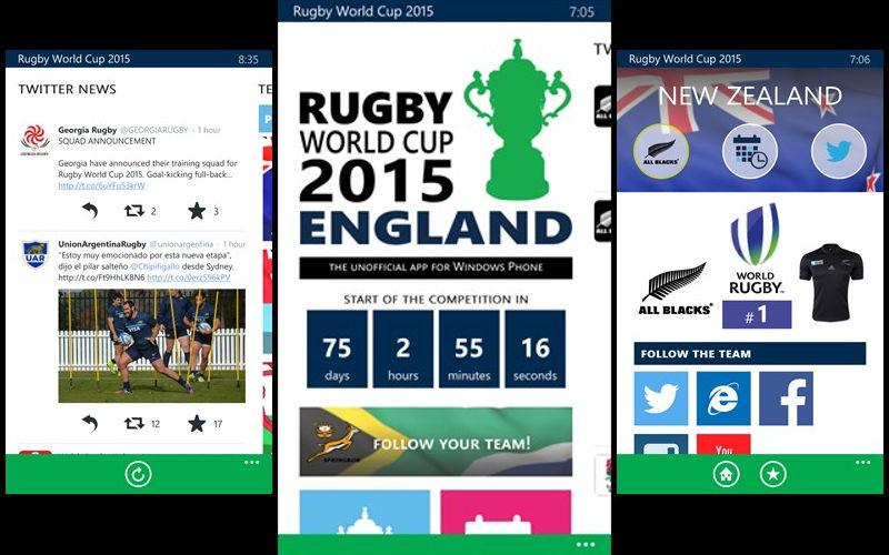 #RugbyWorldCup for #WindowsPhone mixes a gorgeous interface with news and… http://t.co/krg0buwhfM #Windows10 http://t.co/cYwvChGy0K