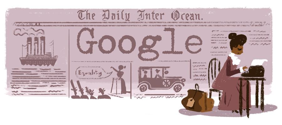 Celebrating American journalist & civil rights pioneer Ida B. Wells w/ a #GoogleDoodle today: http://t.co/SHKXllynOi http://t.co/uM2pUnQNL5