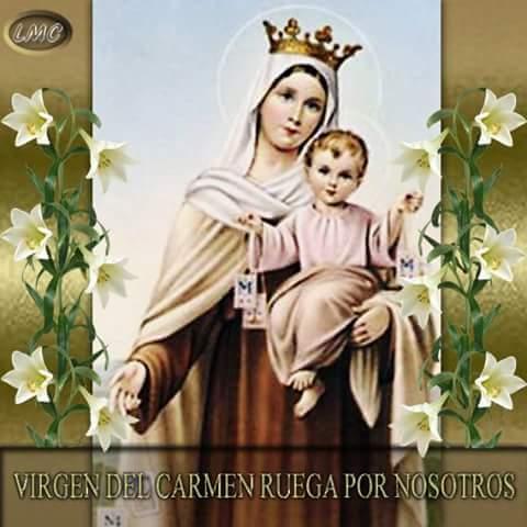 Feliz #DiaDelPolicia a nuestros  @polinagua, Virgen del Carmen protege desde su Cmdte @afeolacruz hasta la mascota http://t.co/SVtJLxnyxJ