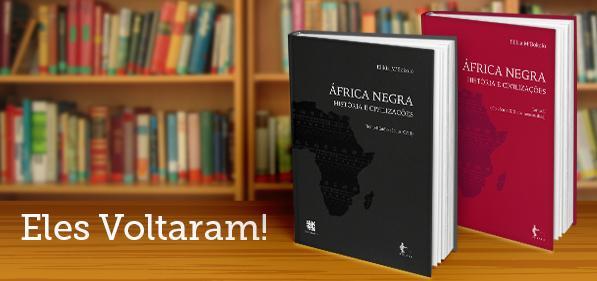 """""""África negra: histórias e civilizações"""", do historiador congo Elikia M'Bokolo, voltou a circular pela Edufba! :D http://t.co/3mml68ZWN8"""