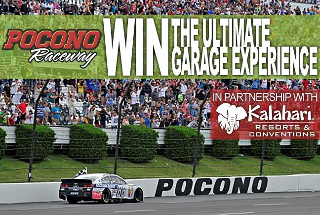 Visit https://t.co/eTIGvy2yz1 to LIKE & COMMENT for a chance to win The Ultimate Garage Experience @poconoraceway! http://t.co/YHtf5mBuGa