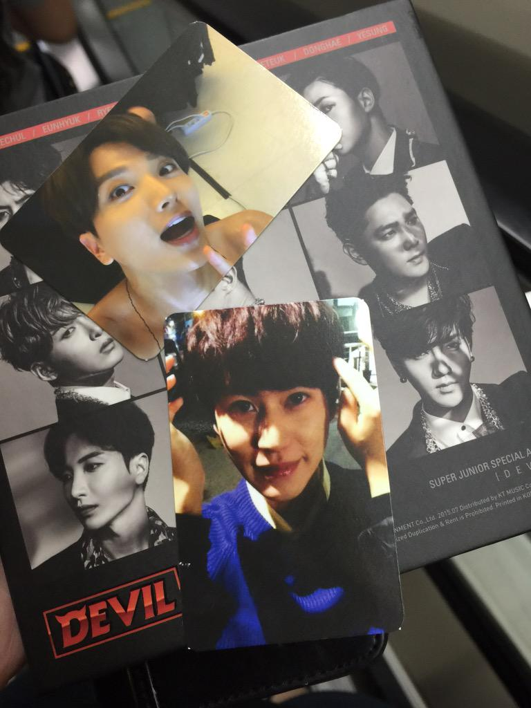 Leeteuk and Kyuhyun devil card http://t.co/RfGOCQOC3Z