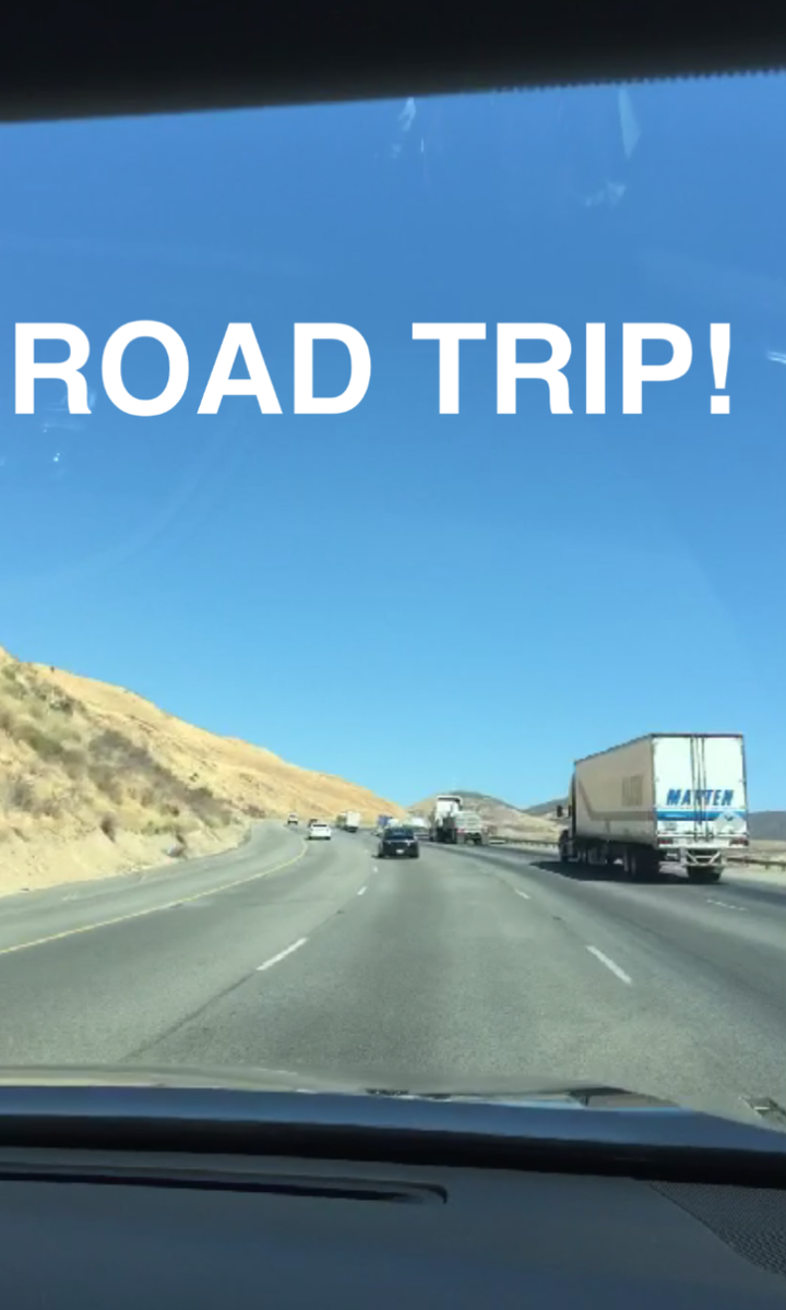 ROAD TRIP! #snapchat http://t.co/tRvWmP22Eu