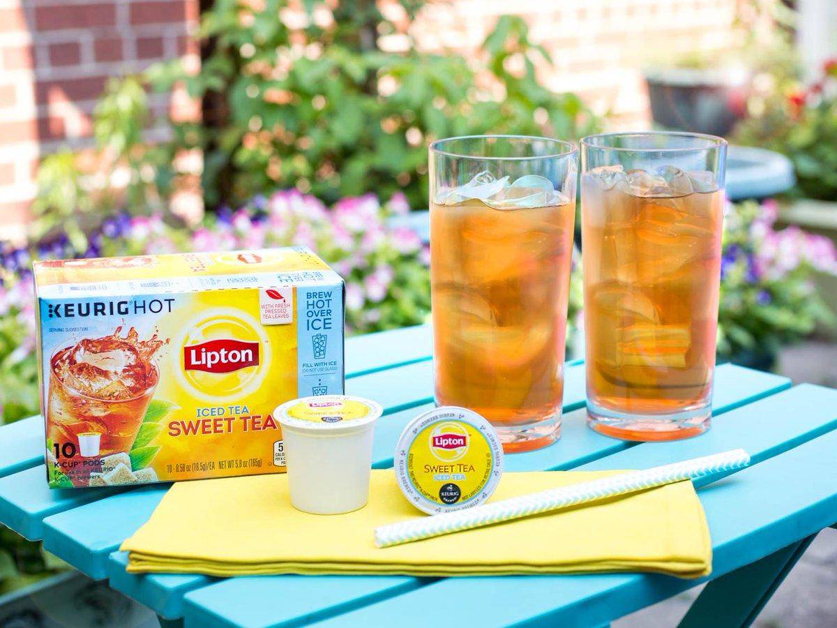 Summer, at the push of a button @Lipton K-Cup® Packs. RT for chance to win a pack + brewer http://t.co/KCFCUJ2NQi #ad http://t.co/bwuaZ9Jxqw