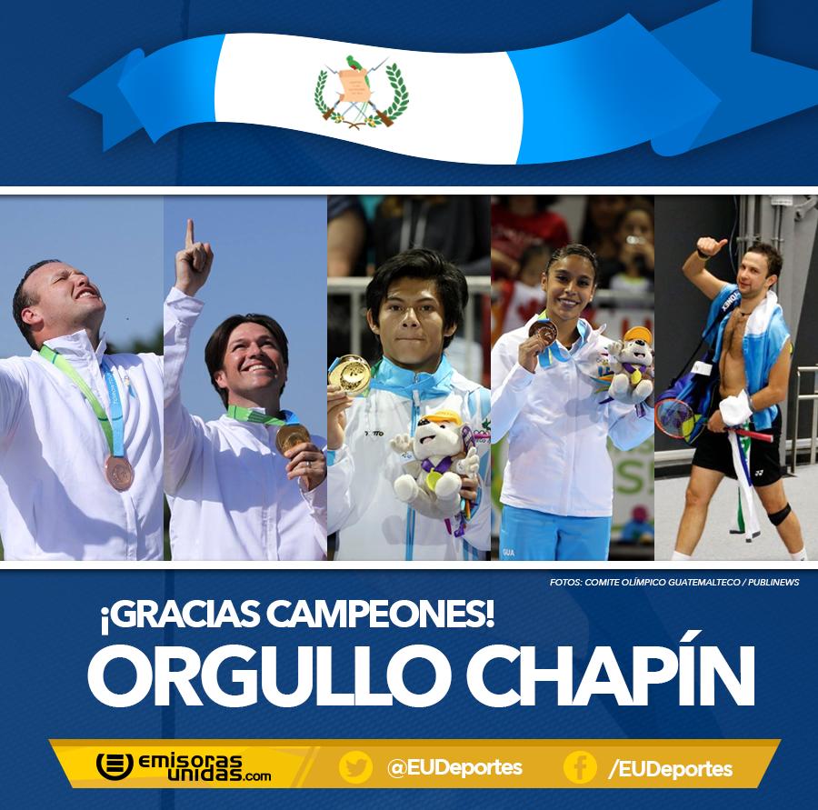 ¡Ellos han logrado que miles de guatemaltecos nos sintamos orgullosos por su esfuerzo y dedicación! ¡GRACIAS! Dale RT http://t.co/zt56Pquy6I