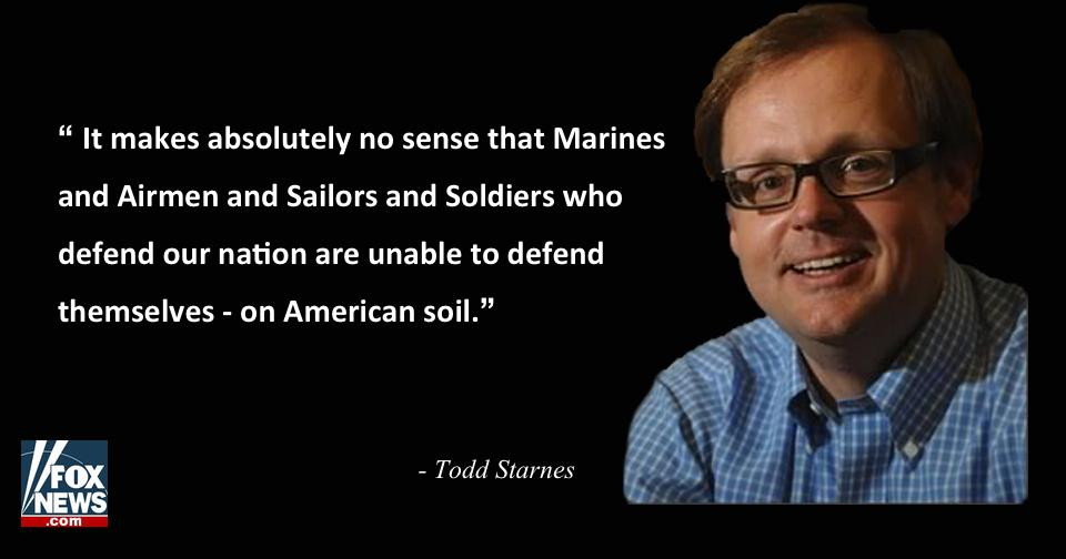.@toddstarnes: #Chattanooga shooting proves it's time to arm our Armed Forces  http://t.co/niB9g7hFAF http://t.co/mIsTmdDS4x