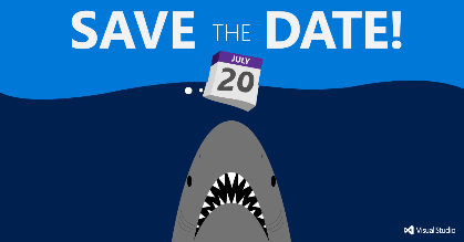 Visual Studio 2015 release will be available Monday… save the date + join virtual event: http://t.co/zNwSVD5zoZ http://t.co/pjUkXh2eeu