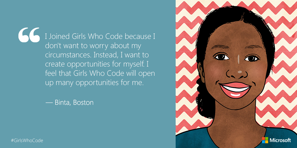 .@GirlsWhoCode is helping girls change the #technology industry: http://t.co/nwDZWse26x http://t.co/xyuMkK5ofR