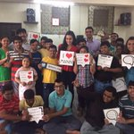 Had one of the most memorable days with the kids at Mann, the NGO supported by Design 1 of Sahachari foundation http://t.co/XjcmcW4SbK