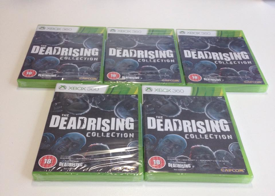 Lets kick the weekend off, Follow and RT to win 1 of 5 copies of the Dead Rising Collection  http://t.co/v1pLMOs2Ot http://t.co/SGBremYmZj