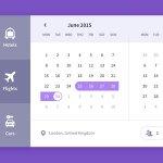 Calendar, travel UI freebie http://t.co/0Fl6nrX881 http://t.co/lB6ZtMiRdI