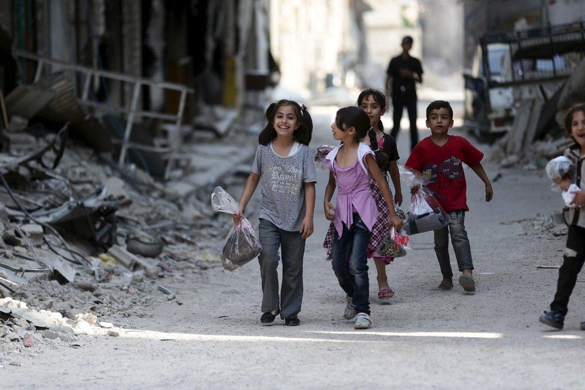 #EidMubarak in Syria http://t.co/jlaDJc2onT