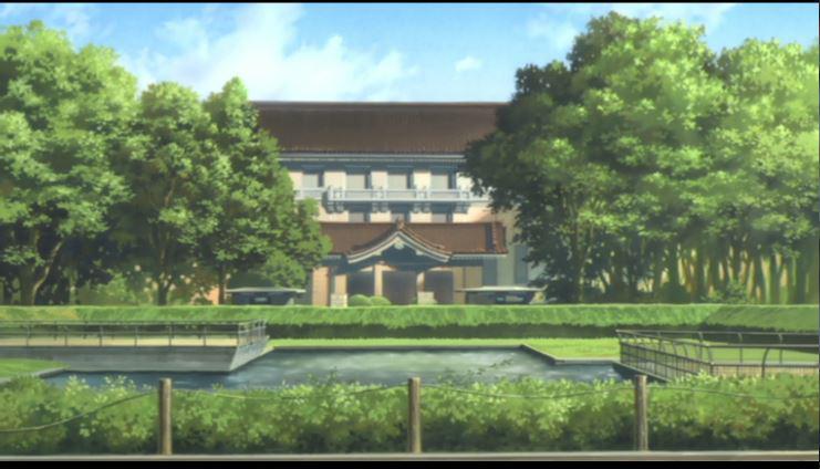 魔女おばさんが働いている設定の東京国立博物館で昨年行われた野外シネマは中央の池に画面が反射してすごく綺麗だった。毎年ナイ