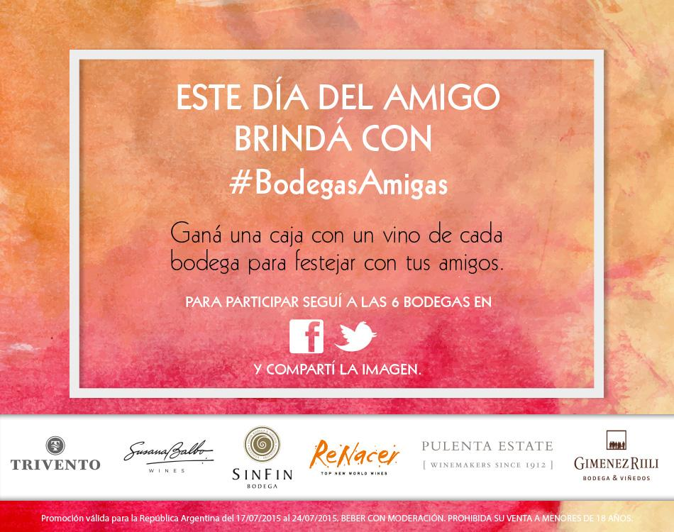 Ya empezó! #BodegasAmigas con @PulentaEstate @GimenezRiili @BodegaRenacer @BodegaSinFin @TriventoArg @sbalbowines http://t.co/IY16rCpdxP