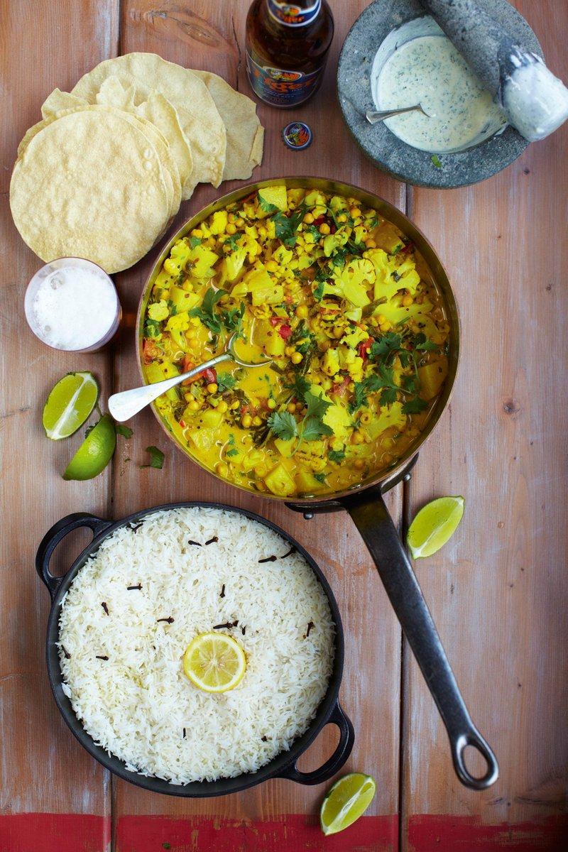 #Recipeoftheday Keralan veggie curry, rice & minty yogurt. Quick & healthy http://t.co/eeHmwxDZCo #MeatFreeMonday http://t.co/jscJes7bTC