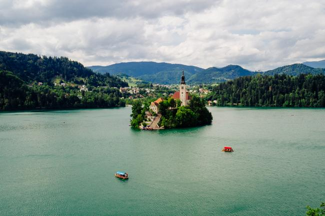 Lake Bled: Incredible Views from Tito's Private Villa in #Slovenia http://t.co/I7EoWG5hID #ifeelsLOVEnia http://t.co/iPmW5hVCMJ