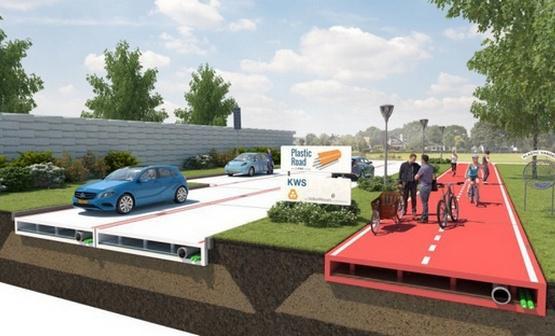 В Голландии будут строить пластиковые дороги, которые собираются как конструктор LEGO. http://t.co/HoOyrHjUxP