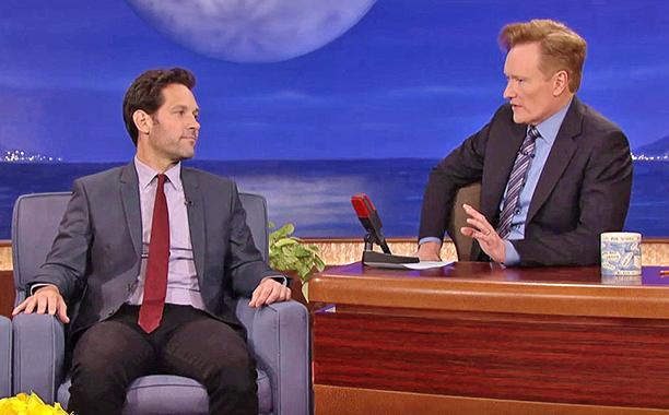 ICYMI: Paul Rudd will never stop pulling this prank on Conan O'Brien: