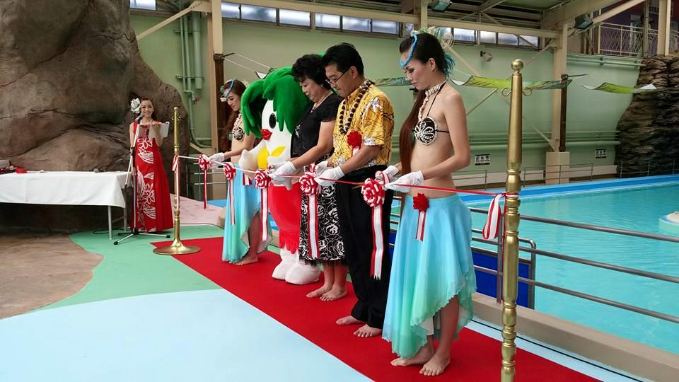 日本初の流れるアクアリウムプール「フィッシュゴーランド」オープンしました! http://t.co/FDT4cOlQHc