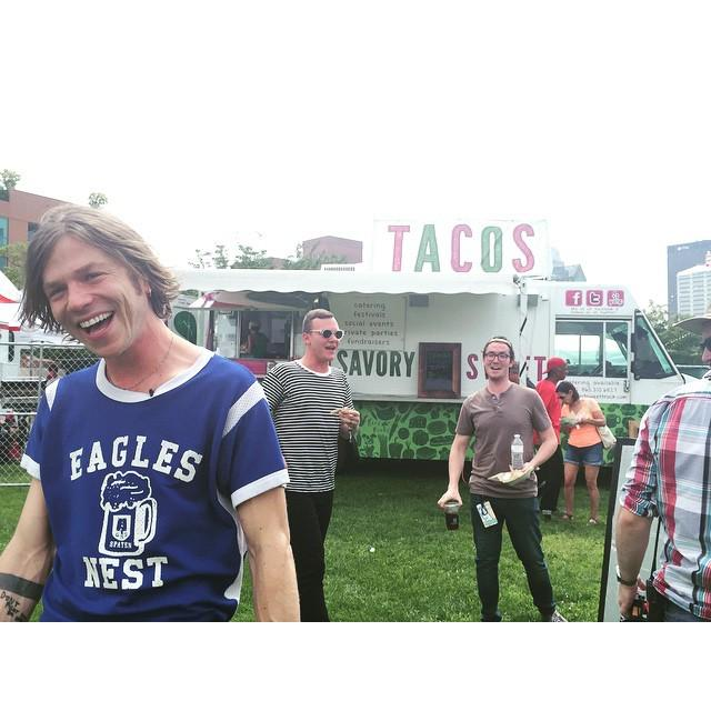 The Wild Honey Pie (@thewildhoneypie): Anyone want some tacos? @cagetheelephantofficial @dopecrit #ontheboat2 @squarespace @savor… http://t.co/mxXE2sAq4F http://t.co/kcm58sjkQm
