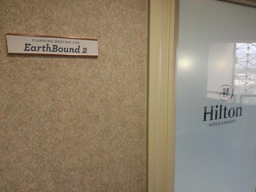 Nice touch on a conference room at Camp @Fangamer... http://t.co/FVAvx0LqJN