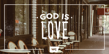 The great thing about God is His love is immeasurable and unending. We cannot measure His love because He is love. http://t.co/rgQtQeJWO0