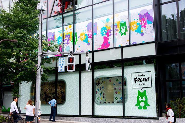 原宿の駅前、吉野家の向かい、竹下通りの入り口にアメスタが登場! 7/23の17:00にMACO登場! たくさん情報解禁あるのでMACOfamまってますよー! http://t.co/ylu0dQGNkp