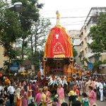 RT @Aagan86: @ravishndtv Yeh Kolkata ISKCON temple ka Rath Yatra hai