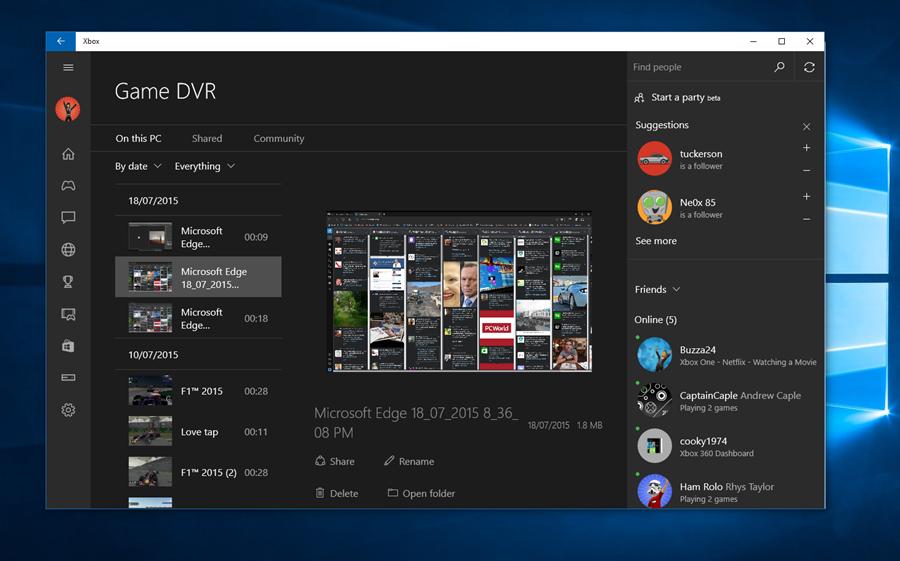 Windows 10 has a hidden screen recorder built-in for free - http://t.co/vwtfQr7hqW (via techAU) http://t.co/3ki0KEwlDu