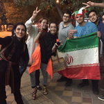 On streets of Tehran, Iranians celebrate a long-sought opening to the world http://t.co/ungWleTasG http://t.co/9L7tEFbkGi