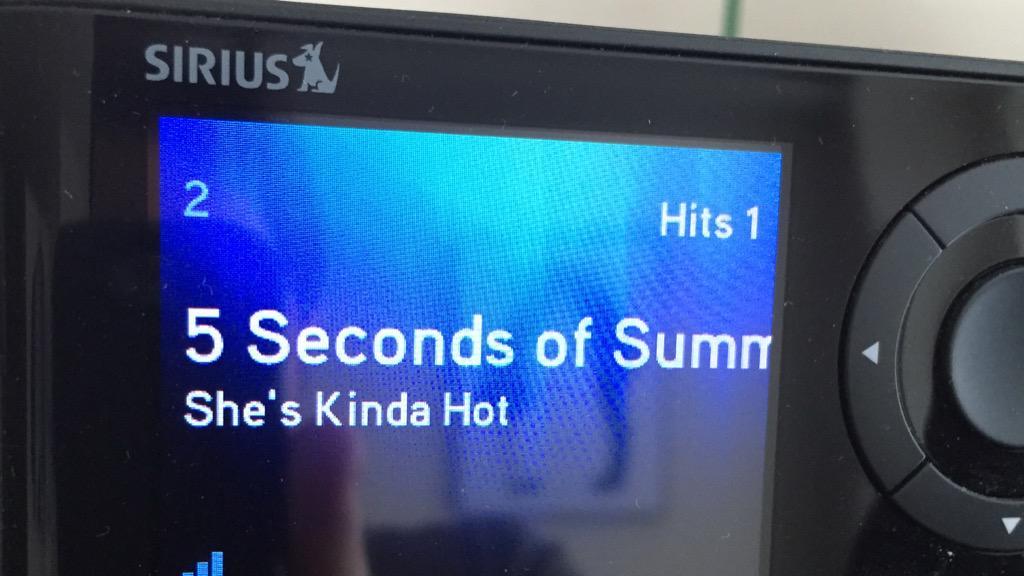 #nowplaying @5SOS #ShesKindaHot on @SiriusXMHits1 #HitBound